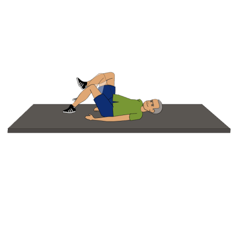 gluteal stretch for back pain