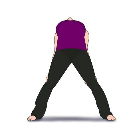Back bend shoulder opener