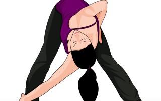 Wide Legged Forward Bend Twist