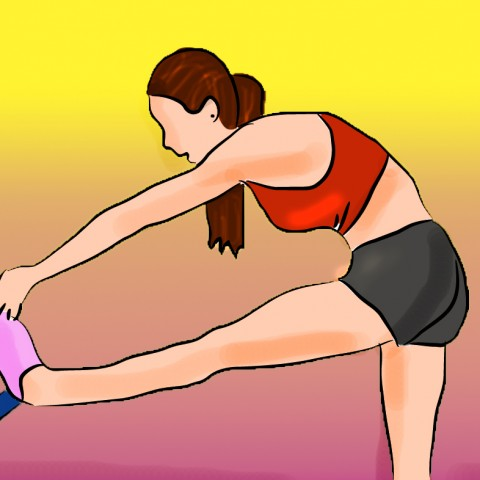 Hamstring Stretch for Low Back Pain