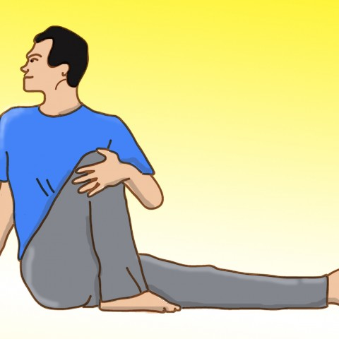 spinal twist for low back pain